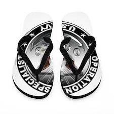 USN Operations Specialist Eag Flip Flops
