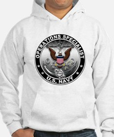 USN Operations Specialist Eag Hoodie