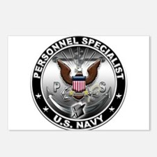 USN Personnel Specialist Eagl Postcards (Package o