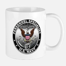 USN Personnel Specialist Eagl Small Small Mug