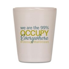 Occupy Everywhere Shot Glass