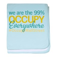 Occupy Everywhere baby blanket