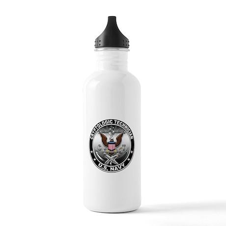 USN Cryptologic Technician Ea Stainless Water Bott