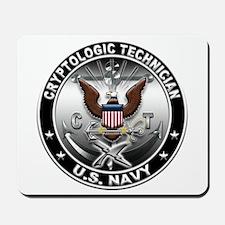 USN Cryptologic Technician Ea Mousepad