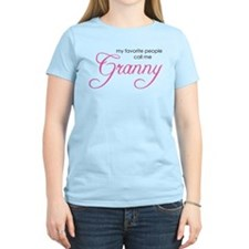 Favorite People Call me Grann T-Shirt