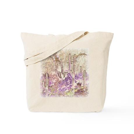 Wild Saguaros Tote Bag