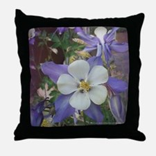 Colorado Columbines - Throw Pillow