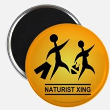 Naturist Xing Magnet