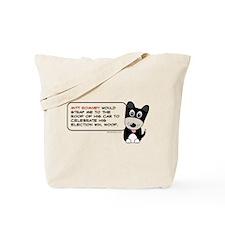 Romney vs Dogs Tote Bag