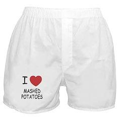 I heart mashed potatoes Boxer Shorts