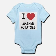 I heart mashed potatoes Infant Bodysuit