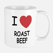 I heart roast beef Mug