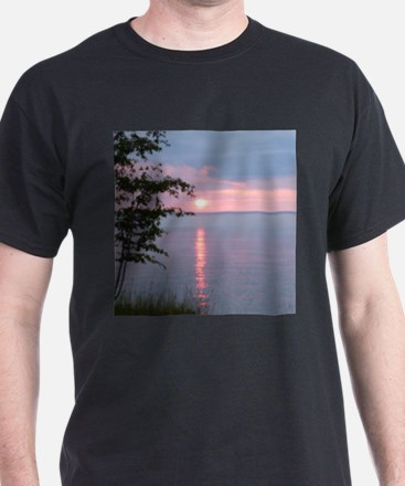 Sunset Lake Superior T-Shirt
