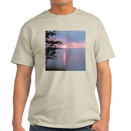 Sunset Lake Superior Light T-Shirt