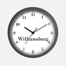 Williamsburg Classic Newsroom Wall Clock