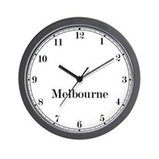 Melbourne Classic Newsroom Wall Clock