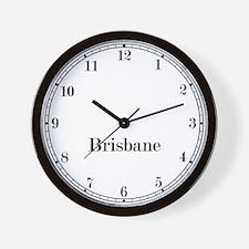 Brisbane Classic Newsroom Wall Clock