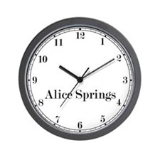 Alice Springs Classic Newsroom Wall Clock