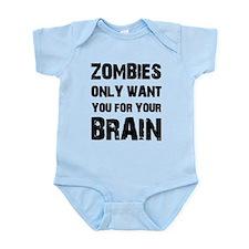 Zombies Infant Bodysuit