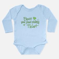 Bless Your Heart Long Sleeve Infant Bodysuit