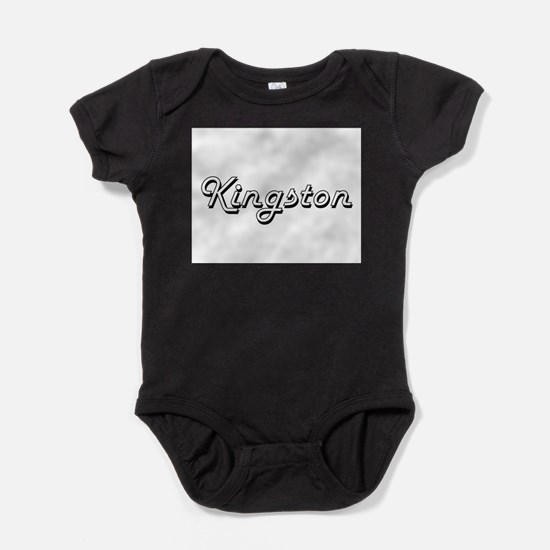 Kingston Classic Style Name Body Suit