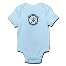 Nantucket MA - Sand Dollar Design Infant Bodysuit
