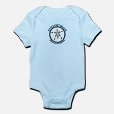 Nantucket MA - Sand Dollar Design Infant Bodysuit