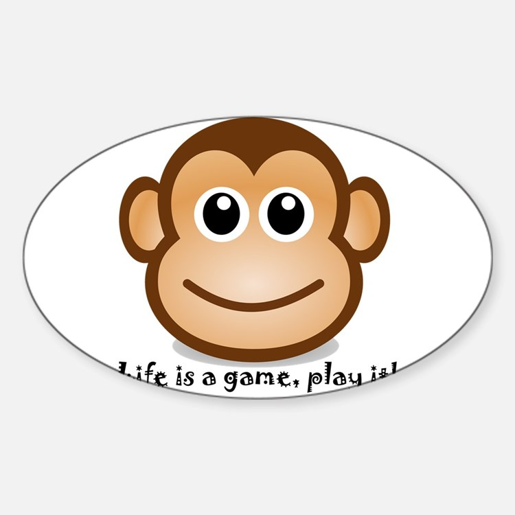 Cute Monkey Decal