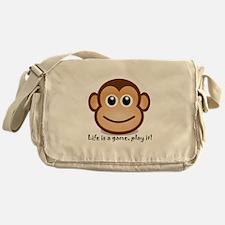 Cute Monkey Messenger Bag