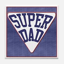 Super Dad Tile Coaster