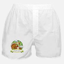 Turkey Butt Boxer Shorts