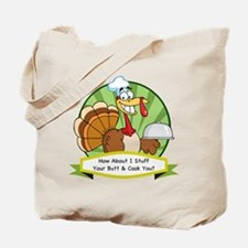 Turkey Butt Tote Bag