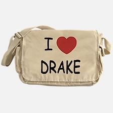 I heart drake Messenger Bag