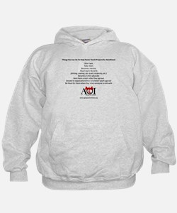 Things You Can Do to Help Foster Youth Sweatshirt