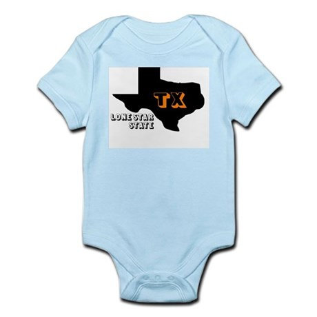 TX LONE STAR STATE Infant Creeper