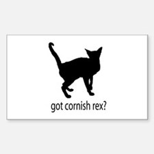 Got cornish rex? Decal