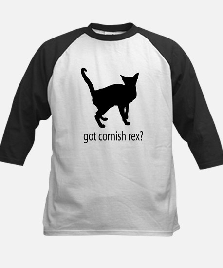 Got cornish rex? Kids Baseball Jersey