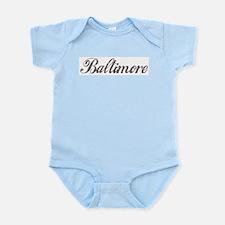 Vintage Baltimore Infant Creeper