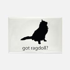 Got ragdoll? Rectangle Magnet