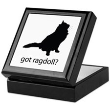 Got ragdoll? Keepsake Box
