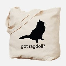 Got ragdoll? Tote Bag
