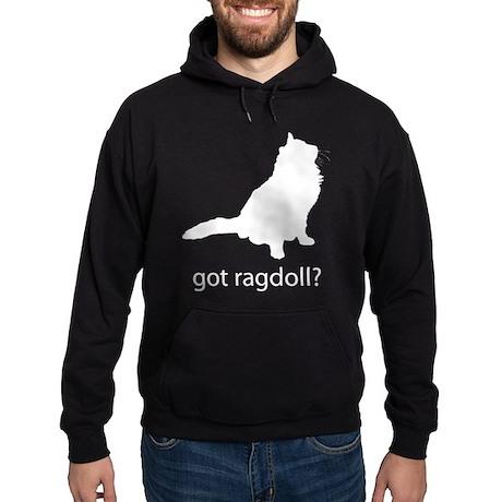 Got ragdoll? Hoodie (dark)
