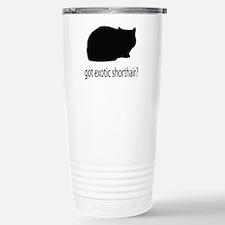 Got exotic shorthair? Travel Mug