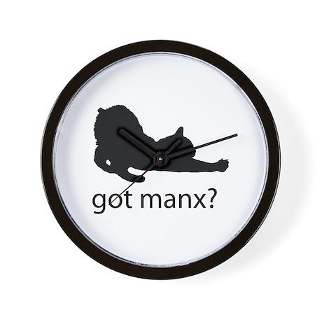 Got manx? Wall Clock