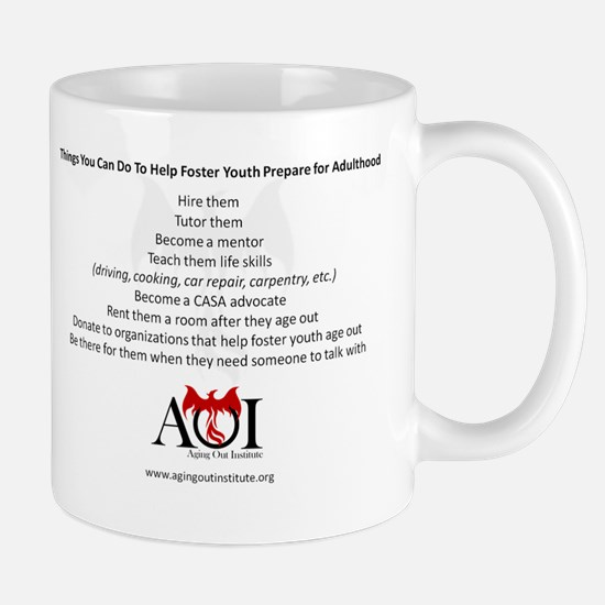 Things You Can Do to Help Foster Youth Mugs