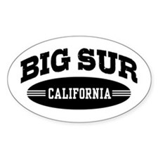 Big Sur California Decal
