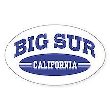 Big Sur California Decal
