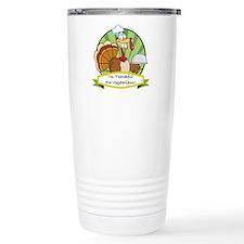 Thanksgiving Vegetarians Travel Mug