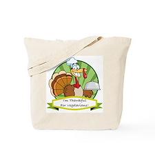 Thanksgiving Vegetarians Tote Bag