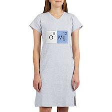 Periodic Table Design (Oh My Women's Nightshirt
